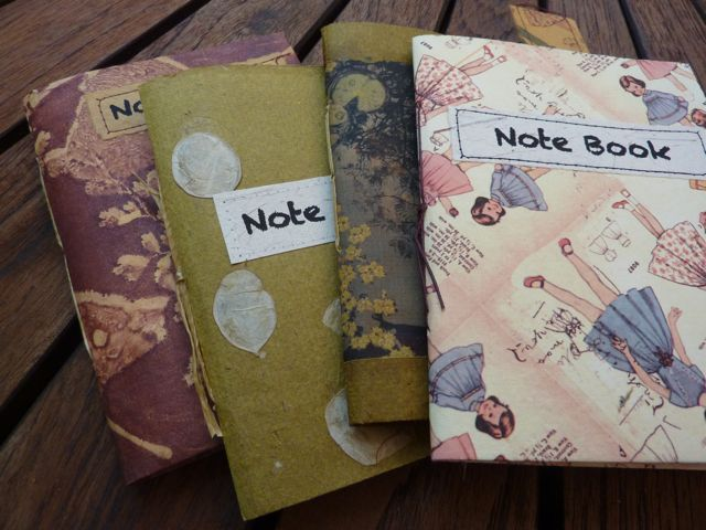 Nifty Notebooks for sale at Halls Gap Market